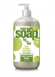 Image of Everyone for Kids 3-in-1 Soap Liquid Tropical Coconut Twist