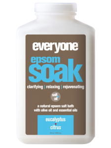 Image of Everyone Bath Soak Epsom Salt Eucalyptus & Citrus