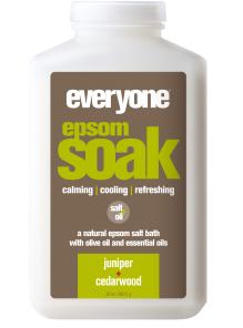 Image of Everyone Bath Soak Epsom Salt Juniper & Cedarwood