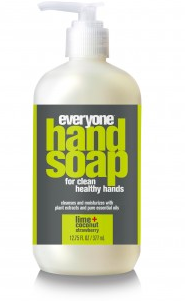 Image of Everyone Hand Soap Liquid Lime Coconut Strawberry