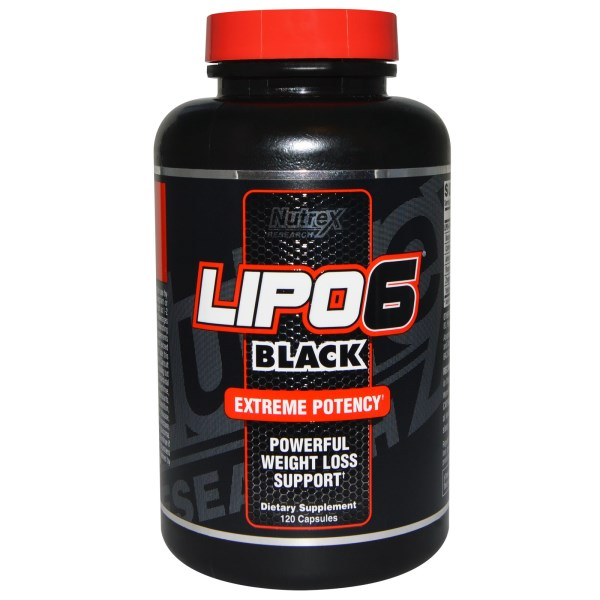 Image of Lipo-6 Black