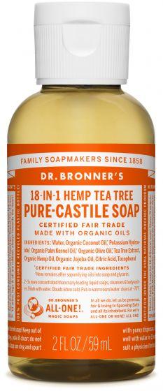 Image of Pure Castile Soap Liquid Organic Tea Tree