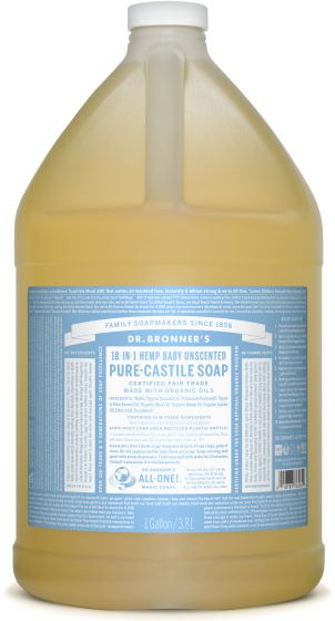 Image of Pure Castile Soap Liquid Organic Baby Unscented