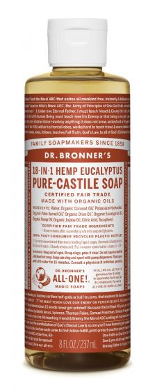 Image of Pure Castile Soap Liquid Organic Eucalyptus
