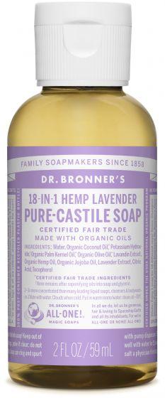 Image of Pure Castile Soap Liquid Organic Lavender