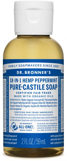 Image of Pure Castile Soap Liquid Organic Peppermint