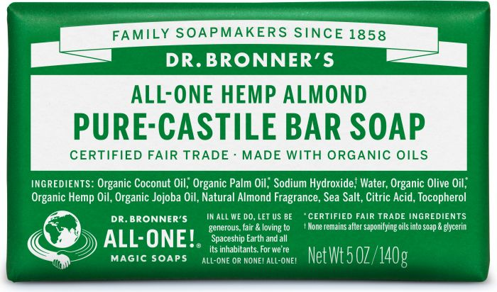 Image of Pure Castile Bar Soap Organic Almond