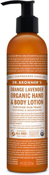 Image of Hand & Body Lotion Organic Orange Lavender