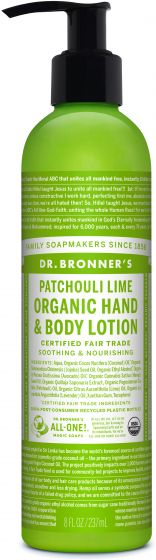 Image of Organic Lotion Patchouli Lime