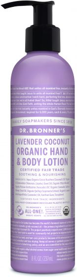 Image of Organic Lotion Lavender Coconut