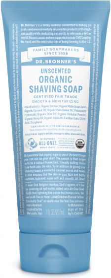 Image of Shaving Soap Organic Unscented