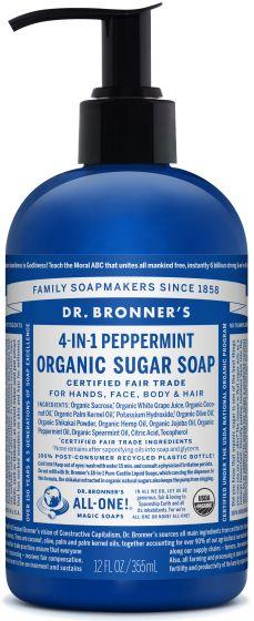 Image of Sugar Soap Liquid Organic Peppermint