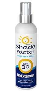 Image of Shade Factor Sunscreen Spray SPF 30