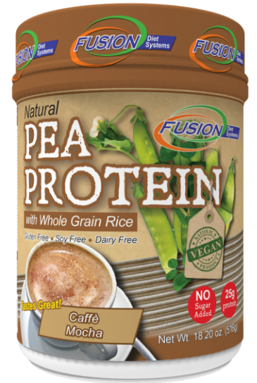 Image of Pea Protein Powder with Whole Grain Rice Caffe Mocha