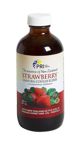 Image of Manuka Cough Elixir Strawberry