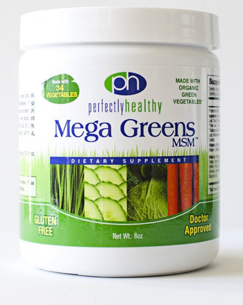 Image of Mega Greens plus MSM Powder