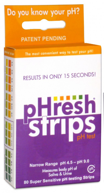 Image of PHresh Strips PH Testing Strips