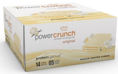 Image of Power Crunch Protein Bar Original French Vanilla Creme