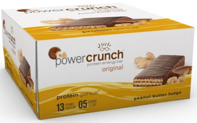 Image of Power Crunch Protein Bar Original Peanut Butter Fudge