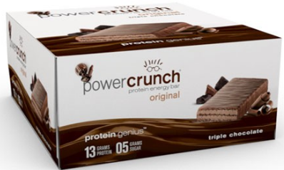 Image of Power Crunch Protein Bar Original Triple Chocolate