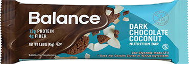 Image of Balance Protein Bar Dark Chocolate Coconut
