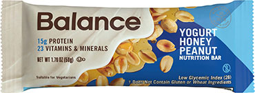Image of Balance Protein Bar Yogurt Honey Peanut