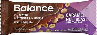 Image of Balance Protein Bar Caramel Nut Blast