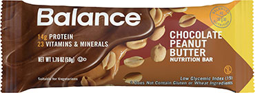 Image of Balance Protein Bar Chocolate Peanut Butter