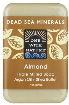 Image of Dead Sea Minerals Bar Soap Almond