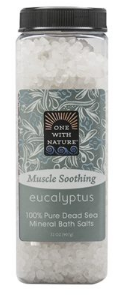 Image of Dead Sea Mineral Bath Salts MUSCLE SOOTHING Eucalyptus