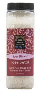Image of Dead Sea Mineral Bath Salts SPA BLEND Rose Petal