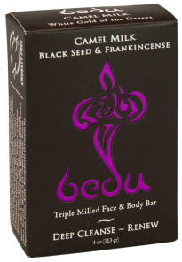 Image of Bedu Camel Milk Bar Soap Black Seed & Frankincense