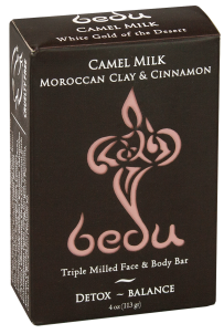 Image of Bedu Camel Milk Bar Soap Moroccan Clay & Cinnamon