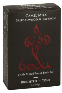 Image of Bedu Camel Milk Bar Soap Sandalwood & Saffron