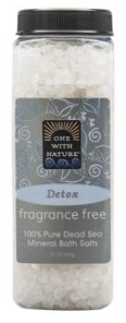 Image of Dead Sea Mineral Bath Salts DETOX Fragrance Free