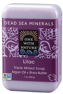 Image of Dead Sea Minerals Bar Soap Lilac