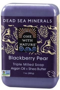 Image of Dead Sea Minerals Bar Soap Blackberry Pear