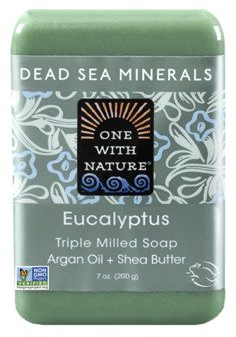 Image of Dead Sea Minerals Bar Soap Eucalyptus