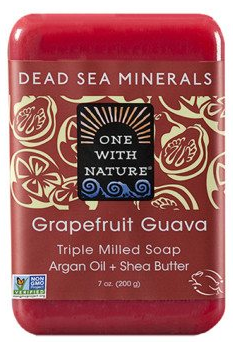 Image of Dead Sea Minerals Bar Soap Grapefruit Guava