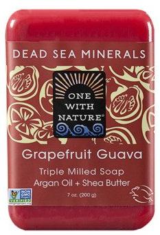 Image of Dead Sea Minerals Bar Soap Grapefruit Guava