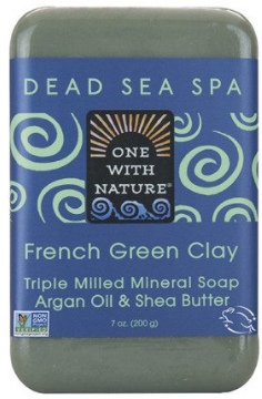 Image of Dead Sea Spa Bar Soap French Green Clay