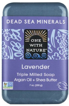 Image of Dead Sea Minerals Bar Soap Lavender