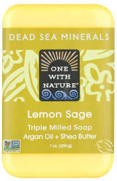 Image of Dead Sea Minerals Bar Soap Lemon Sage