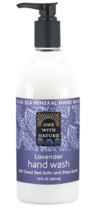 Image of Dead Sea Minerals and Shea Butter Hand Wash Lavender