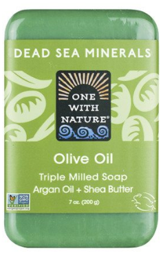 Image of Dead Sea Minerals Bar Soap Olive Oil