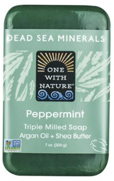 Image of Dead Sea Minerals Bar Soap Peppermint
