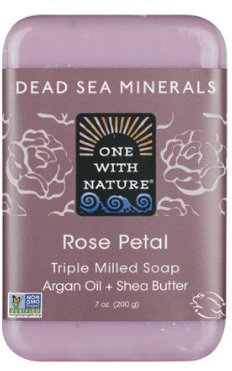 Image of Dead Sea Minerals Bar Soap Rose Petal