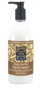 Image of Dead Sea Minerals and Shea Butter Hand Wash Shea Butter