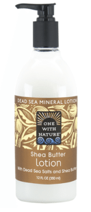 Image of Dead Sea Minerals and Shea Butter Hand & Body Lotion Shea Butter
