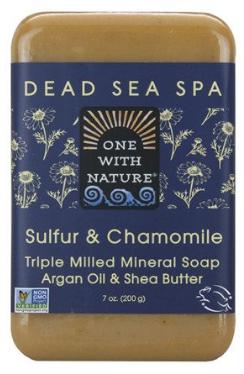 Image of Dead Sea Spa Bar Soap Sulfur & Chamomile